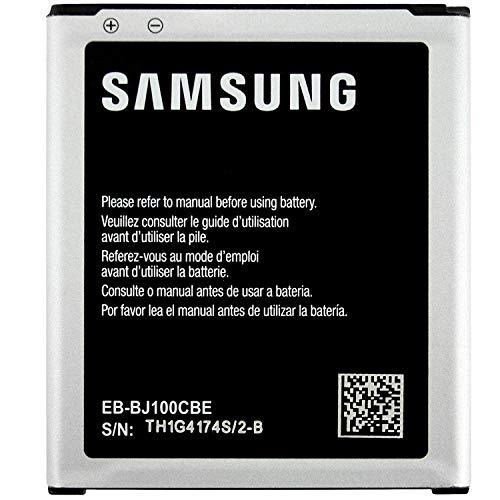 Batteria Originale Samsung Modello EB-BJ100BBE / EB-BJ100CBE - 1850 mAh con Carica Rapida 2.0 Per Samsung Galaxy J1 (J100) - Senza Scatola
