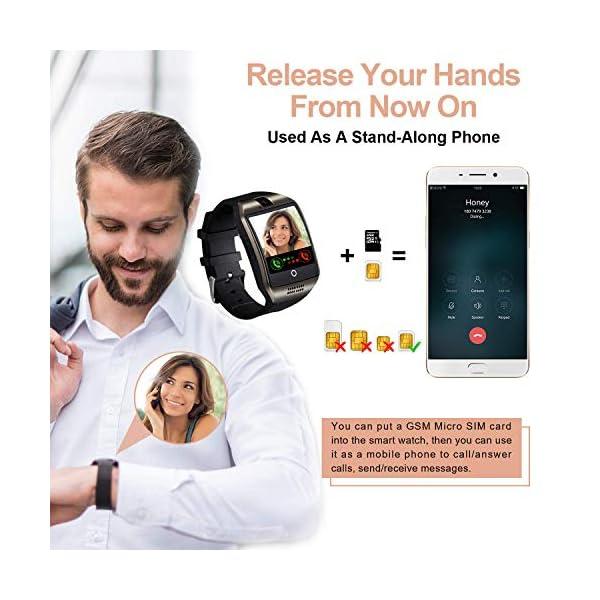 Tipmant Reloj Inteligente Mujer Hombre Smartwatch Pantalla táctil con