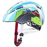 uvex Kid 2 Casco de Bicicleta, Juventud Unisex, Blue, 46-52 cm