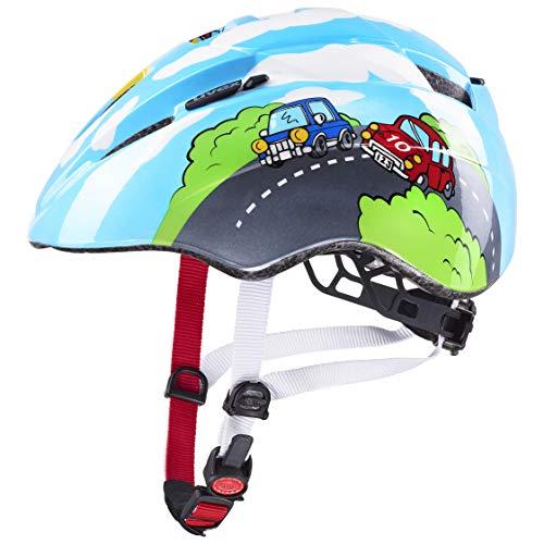 Uvex Unisex Jugend, kid 2 Fahrradhelm, blue, 46-52 cm