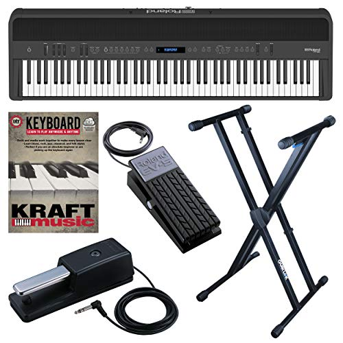 Why Should You Buy Roland FP90 Digital Piano - Black with Stand, Pedals, and Lesson Book