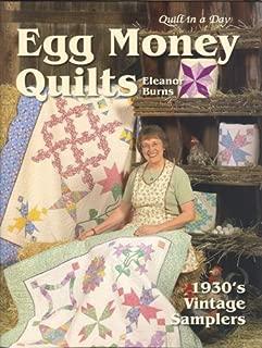 Egg Money Quilts by Burns, Eleanor (2005) Spiral-bound