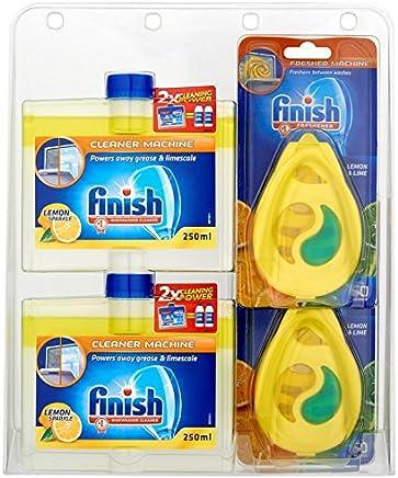 Finish Dishwasher Freshener And Cleaner, Multi-Pack