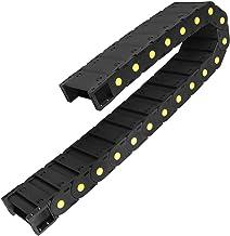 DealMux R55 25mm x 77mm (Inner H x Inner W) Zwart Plastic Kabeldraad Drag Chain 1M Lengte voor CNC, met Eindconnectoren - ...