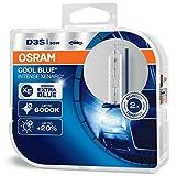 Faro allo xeno OSRAM XENARC COOL BLUE INTENSE D3S HID, lampada a scarica, 66340CBI-HCB, Du...