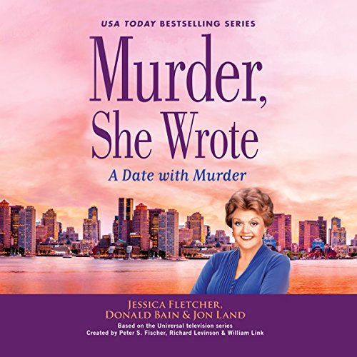 Murder, She Wrote: A Date with Murder audiobook cover art