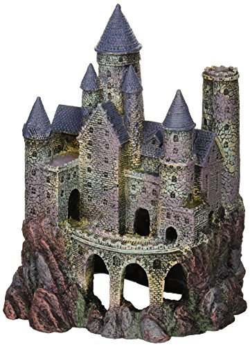 Penn-Plax Wizard's Castle Aquarium Decoration Hand Painted...