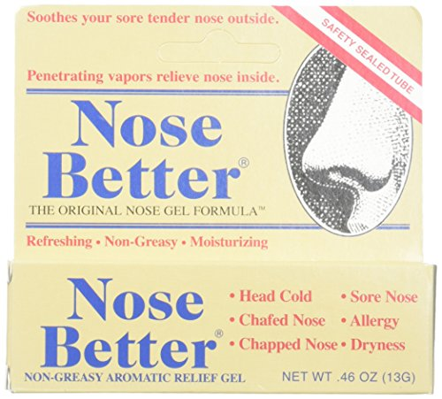 Hyland's Homeopathic Nose Better Non Greasy Aromatic Relief Gel, (Pack Of 2)