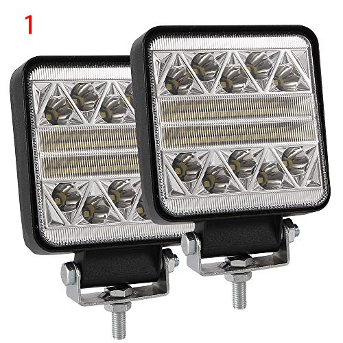 promise2301 Auto Led Worklight Modieuze Truck koplamp Offroad koplamp Top Lights Led Lights Funkelndes Quadrat