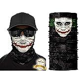 YouGa 3D Pañuelo - Bufanda Tubular, Buff Cuello Deportes Elástico Pañuelos Cabeza Multifunción Bandana Sin Costura para Hombres y Mujeres Uso Diario (Verde)