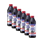 Liqui Moly 1035 GL5 - 6 botellas de aceite para engranajes hipoides (GL5) SAE 85W-90 MB 23...