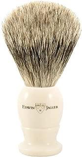 Edwin Jagger Best Badger Shaving Brush in Ivory, Medium