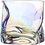 Decantatore Di Whisky Set Whisky Set Di 2 Bicchieri Di Whisky Intrecciati Bicchieri Da Whisky Occhiali Ultra-chiarezza Set Di Vetro Piombo Vecchio Stile Cocktail Vetro Vecchio Stile Per Scotch Bourbon