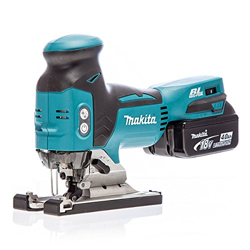 Makita DJV181RMJ 18V Li-Ion Accu decoupeerzaag set (2x 4.0Ah accu) in Mbox - T-greep - variabel - koolborstelloos