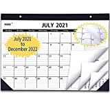 2021 Desk Calendar July 2021 to December 2022, 18 Months Desk Calendar with to-do List,Julian Date. 17' x 12' Monthly Desk or Wall Calendar, Perfect for Organizing for Home or Office.