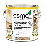 OSMO - Aceite de Cera Dura HS Color 3041 Natural - Bote 0,75 Litros