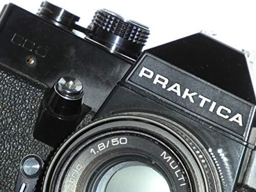 analoge SLR Kamera PRAKTICA EE3 inkl. Objektiv PENTACON Electric 1.8/50 - Technik geprüft - funktioniert