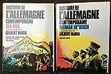 Histoire de l'Allemagne contemporaine RFA RDA, Weimar Iie Reich 2 tomes