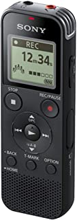 Sony Digital Voice Recorder with Built-in USB - Black, ICD-PX470