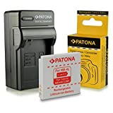 Cargador + Batería NB-4L para Canon Digital Ixus 30 | 40 | 50 | 55 | 60 | 65 | 70 | 75 | 80 IS | 82 IS | 100 IS | 110 IS | 115 HS | 120 IS | 130 IS | 220 HS | 230 HS | 255 HS | i zoom | i7 | Wireless - PowerShot SD40 | SD600 | SD750 | SD1000 | SD1100 IS | TX1
