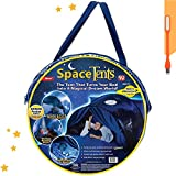 Tienda de campaña infantil, base secreta, mosquitera, diseño aventuras espaciales