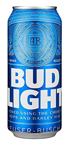 Cerveza Importada Bud Light 24 latas de 473ml c/u