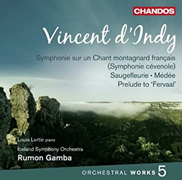 d'Indy: Orchestral Works, Vol. 5