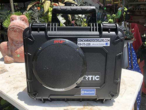 New Hard Case Bluetooth Speaker (35 Quad Speaker)