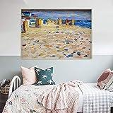 Wassily Kandinsky, Holanda, sillas de playa, 5D, pintura de diamante de punto de cruz, kits de manualidades con kit de diamantes