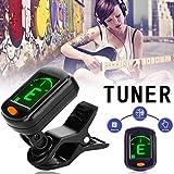 Chuanfeng Tuner 2020 Faltbarer Multifunktionaler Digitaler Clip E-Gitarren-Tuner-Geburtstagsgeschenk...