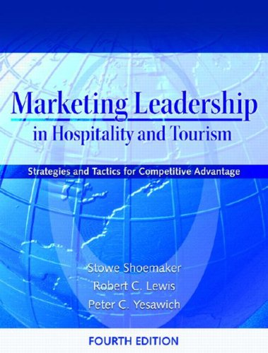 Marketing Leadership in Hospitality and Tourism:...