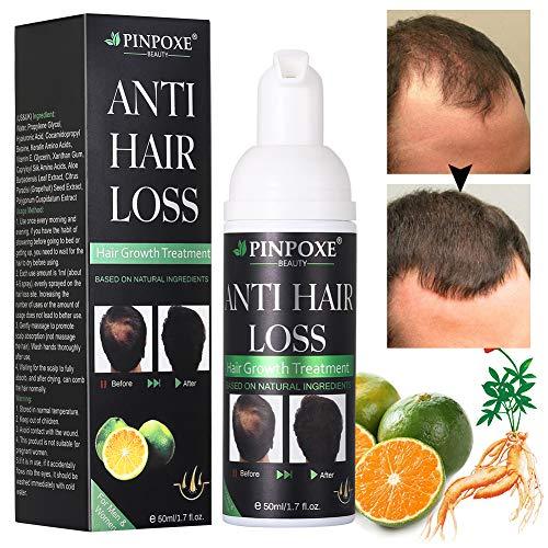 Haarwachstums, Anti Haarausfall, Haarserum,natürliche Kräuteressenz, stärkt Haarwurzeln und fügt natürlichen Glanz 50ml