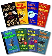 Pratchett 8 Book Set: Night Watch / Truth / Carpe Jugulum / Color of Magic / Fifth Elephant / Light Fantastic / Equal Righ...
