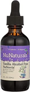 Sponsored Ad - NuNaturals NuStevia Liquid Vanilla Stevia Alcohol Free Natural Liquid Sweetener, Sugar-Free, 295 Servings
