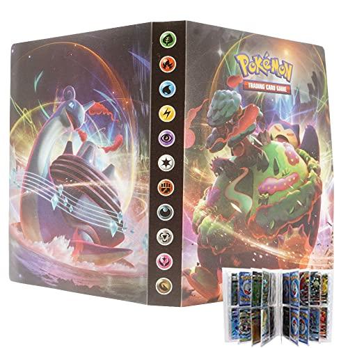 Álbum Pokémon español Coleccionables para 192 Cartas V- VMAX - GX - EX