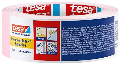 Tesa Präzisionskrepp/Abdeckband Sensitive, 50 m x 50mm