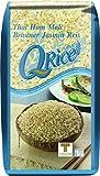 Q Rice Arroz Jazmín, Marrón 1000 g - Pack de 12