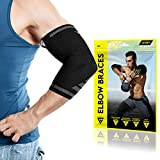 Best Elbow Sleeves - Langov Elbow Brace for Men and Women (Pair) Review