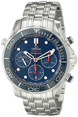 Omega Men's 21230445003001 Diver 300 M...