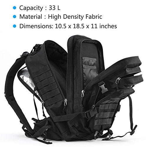 RUPUMPACK Military 3 Day Tactical Backpack