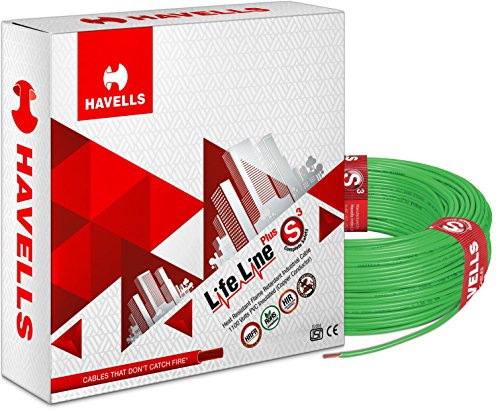 Havells Lifeline Cable WHFFDNGA11X5 1.5 sq mm Wire