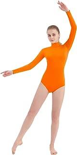 Women's Turtleneck Lycra Spandex Long Sleeve Leotard