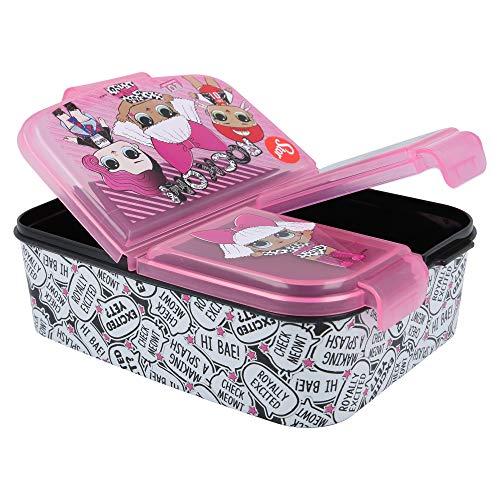 Palleon Kinder Brotdose | Lunchbox | Sandwichbox | Frühstücksbox Schule Kindergarten L