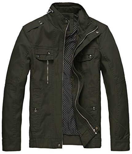 Military Cotton Jackets Men