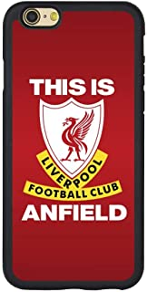Saul&Dunn This is Anfield Liverpool iPhone 7 & iPhone 8 Case Graphic Drop-Proof Durable Slim Soft TPU Cover
