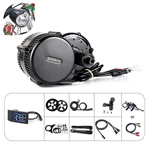 Bafang BBS01B 36V 250W / 350W / 500W Mittelmotor Umbausatz Elektrofahrrad Kit, Optionale 36V 10Ah / 17,4Ah Batterie