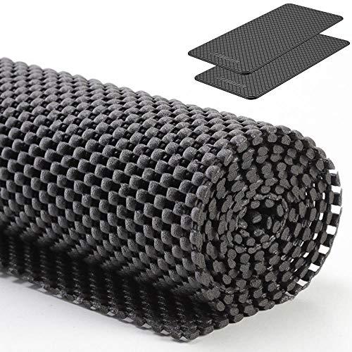 Ganvol Antirutschmatte Rutschhemmende Matte, 75 cm x 100 cm x 2mm, zuschneidbar, für LKW, Anhänger und Kofferraum + KFZ Anti Rutsch Matte
