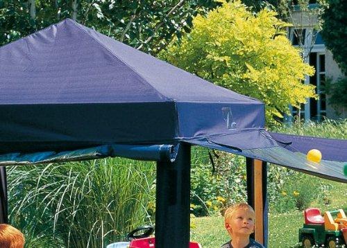 Winnetoo Ersatzdach - Sonnenschutz Dach BLAU für Sandkasten Benjamin 0812
