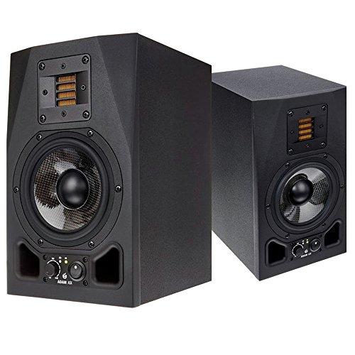 A5X - coppia monitor amplificati 2 vie, bass reflex
