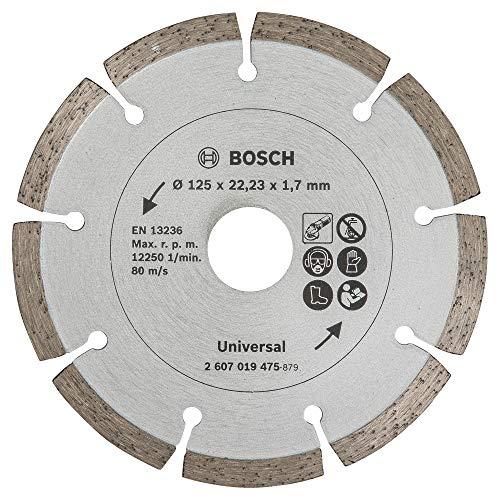 Bosch 2607019475 - Disco de diamante para materiales de construcción (diámetro de 125 mm)